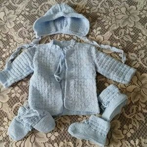 Other - Crochet baby outfit